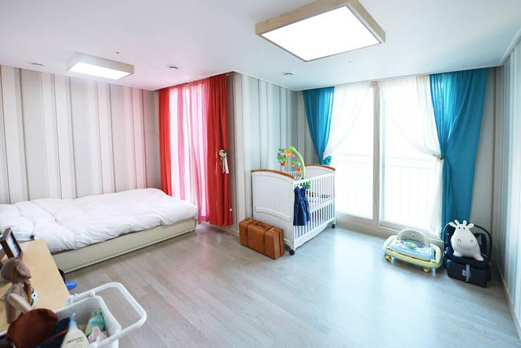 청라반도보라 2차 (Chunglabanbobora 2nd): 진플랜의  침실
