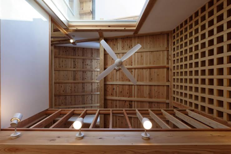 Walls by 高野三上アーキテクツ一級建築設計事務所  TM Architects, Modern