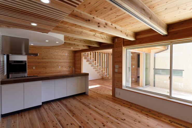 Bedroom by 高野三上アーキテクツ一級建築設計事務所  TM Architects, Modern