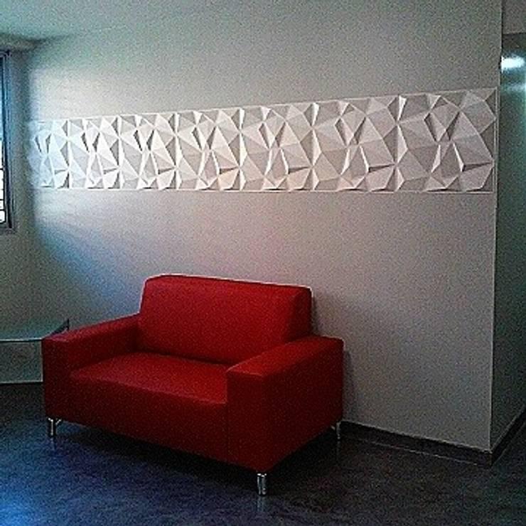 Vinilos: Paredes y pisos de estilo  por Andreina Arrieta Tarjeteria y Viniles