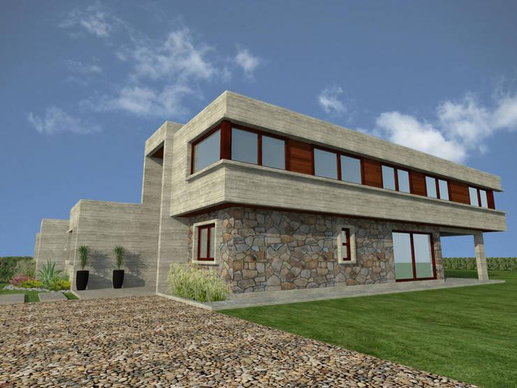 Casa Gama: Casas de estilo  por Vibra Arquitectura