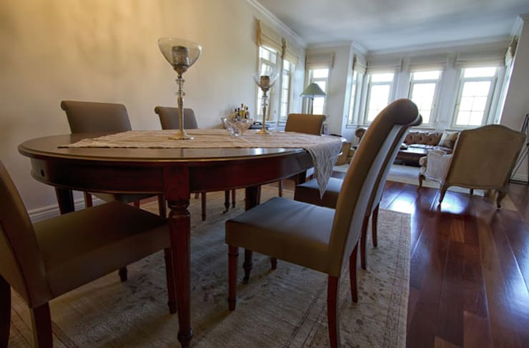Aykuthall Architectural Interiors – Kemer Country:  tarz Yemek Odası
