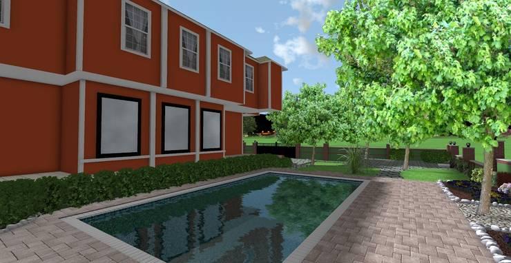 Modern style gardens by AYTÜL TEMİZ LANDSCAPE DESIGN Modern