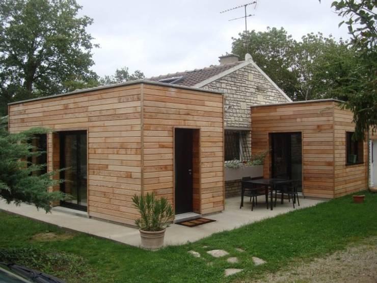 Nouvelle entrée: Maisons de style de style Moderne par Olivier Olindo Architecte