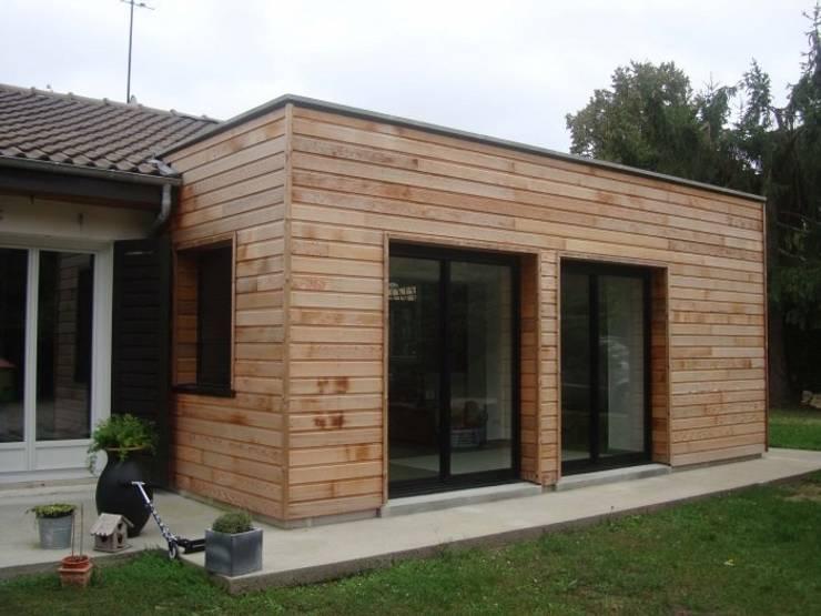 Agrandissement du séjour.: Maisons de style  par Olivier Olindo Architecte