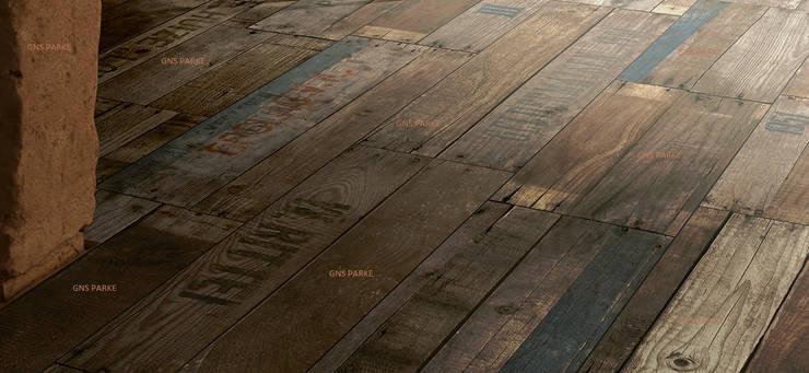 Parador Parke – Eskitme Tahta Otantik Kahve Laminat Parke:  tarz Duvarlar