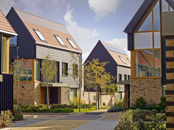 Projekty,  Domy zaprojektowane przez Countryside Properties
