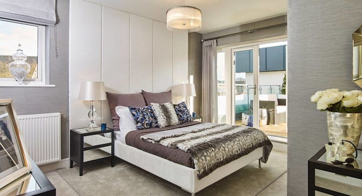 modern Bedroom by Countryside Properties