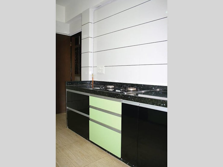 Kitchen Solutions:  Kitchen by Neha Changwani