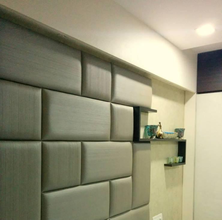 Projekty,  Ściany i podłogi zaprojektowane przez Neha Changwani
