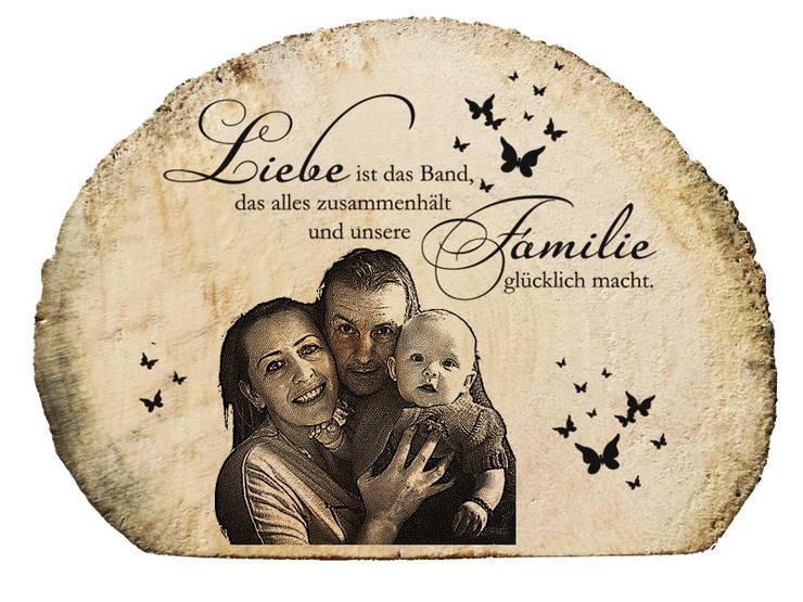 Personalisierte Geschenke   Fotogravur in Treibholz:  Schlafzimmer von DRIFTWOODS