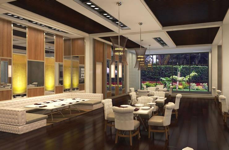 Aykuthall Architectural Interiors – Perfect Relax Spa Merkezi:  tarz Spa