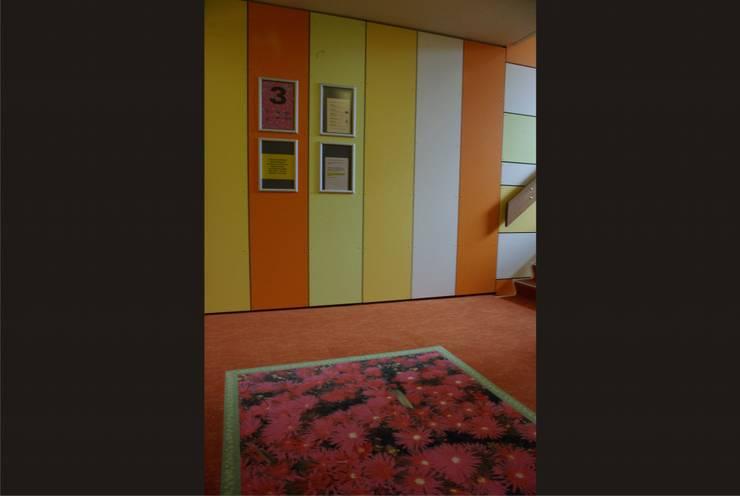 Zorgcomplex Eezicht:  Gezondheidscentra door Dick de Jong Interieurarchitekt, Modern