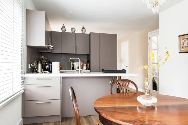 Projekty,  Kuchnia zaprojektowane przez Woon Architecten