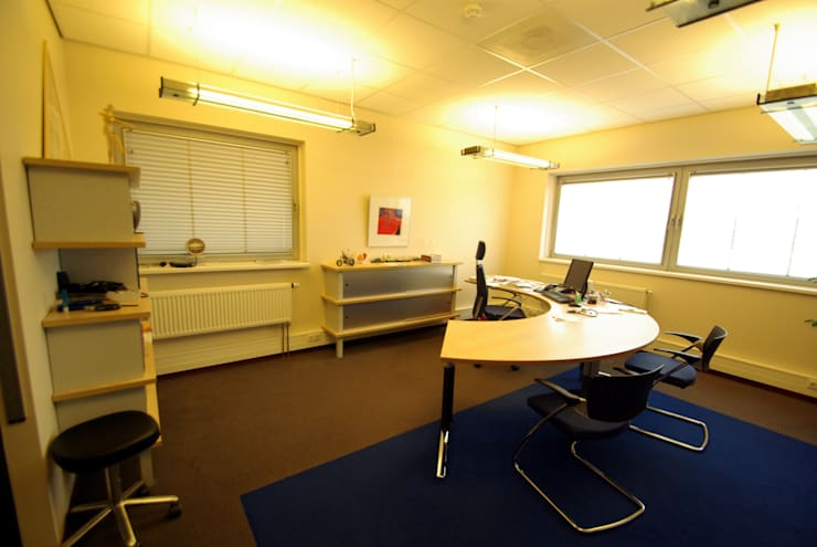 Interieur huisartsenpraktijk:  Gezondheidscentra door Dick de Jong Interieurarchitekt