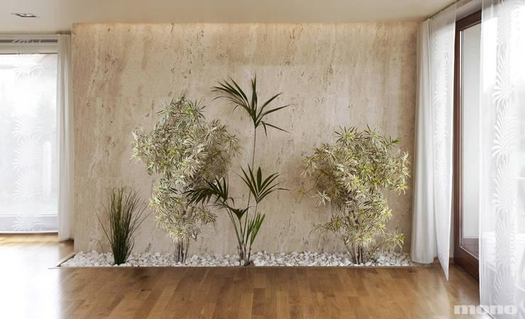 Jardines de invierno de estilo moderno por Mono architektura wnętrz Katowice