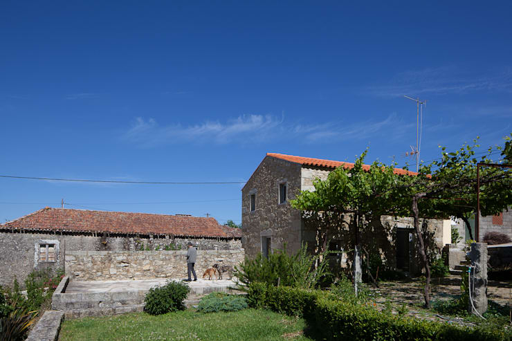 casa das Nogueiras: Casas modernas por par-do
