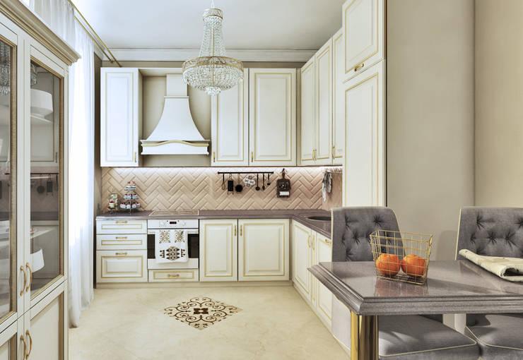Кухня: Кухни в . Автор –  Pure Design, Классический