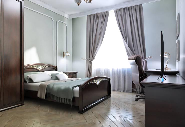 Спальня: Спальни в . Автор –  Pure Design, Классический