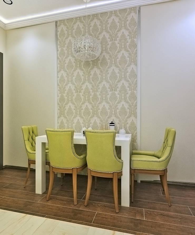 Столовая зона: Столовые комнаты в . Автор –  Pure Design