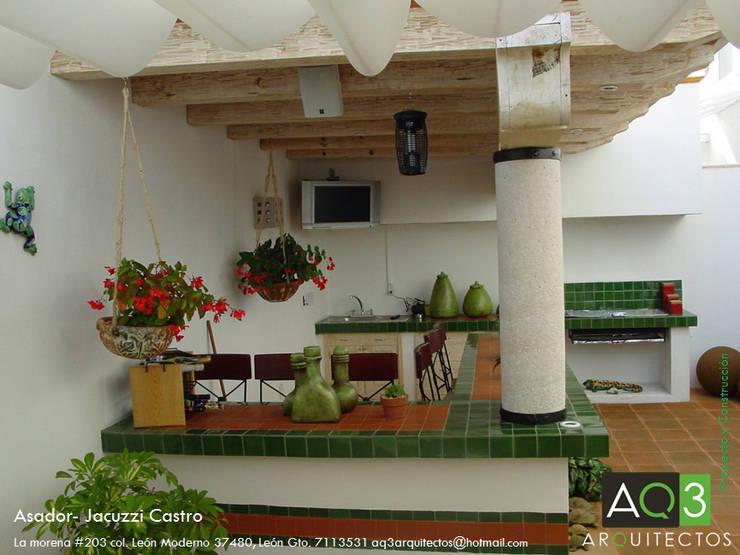 Terrazas de estilo  por AQ3 Arquitectos