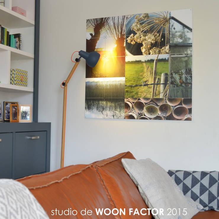 WANDDECORATIE:   door Factor-W interieurontwerp