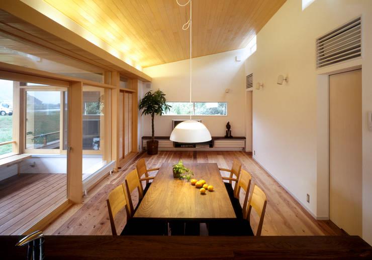 静岡の家 case004: 岩川卓也アトリエが手掛けたリビングです。
