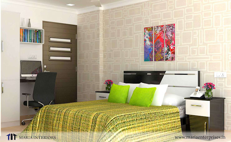 latest project in OTHARA:  Bedroom by Maria Enterprises