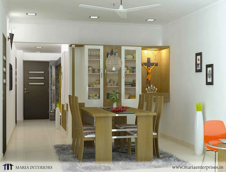 latest project in OTHARA:  Dining room by Maria Enterprises