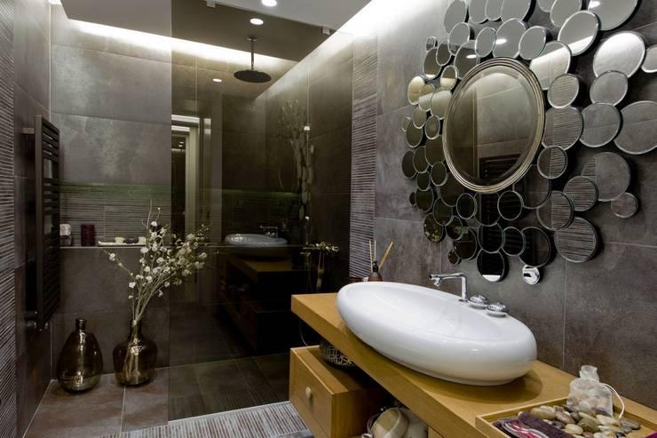 Plano Mimarlık ve Teknoloji – Sarı Konaklar:  tarz Banyo