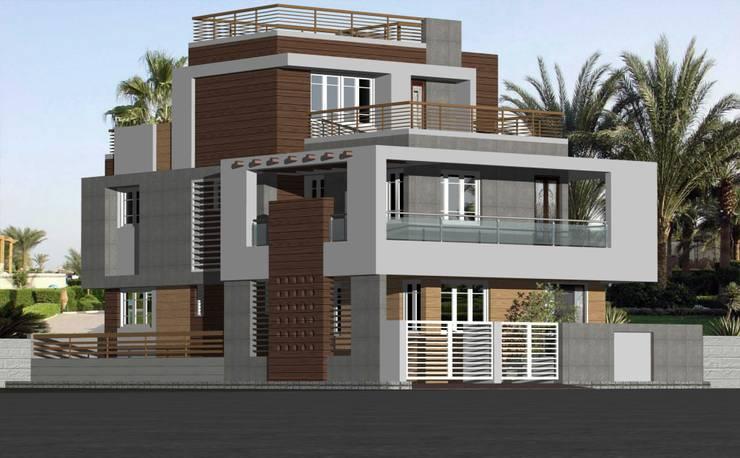 Dr varia residence:  Houses by Tameer studio