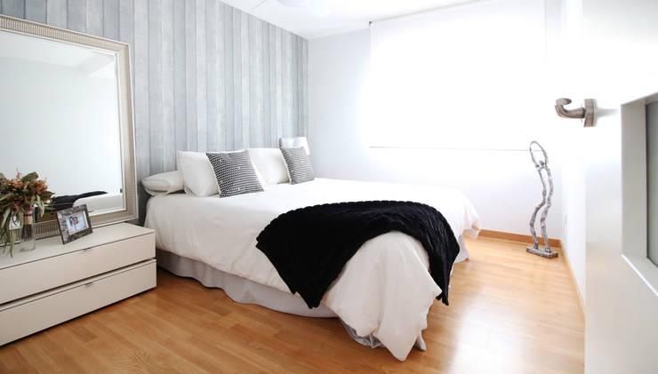 Projekty,  Sypialnia zaprojektowane przez acertus