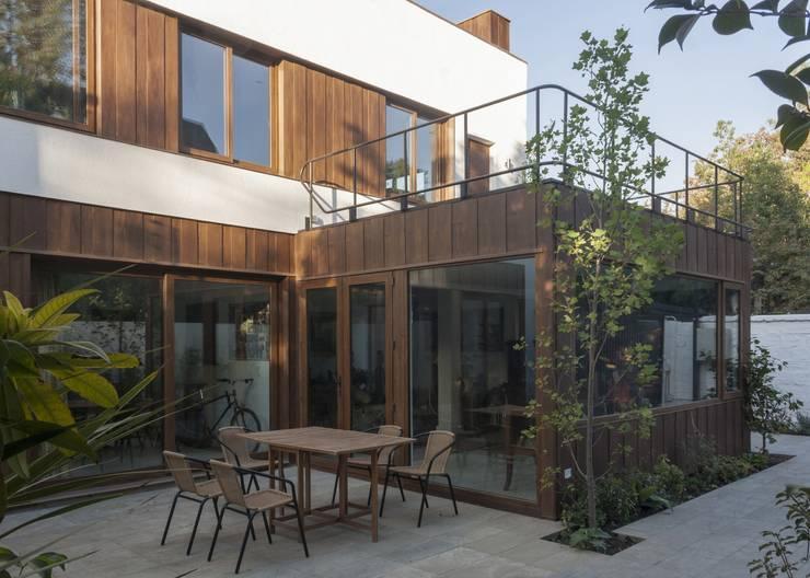 Projekty,  Domy zaprojektowane przez PARQ Arquitectura