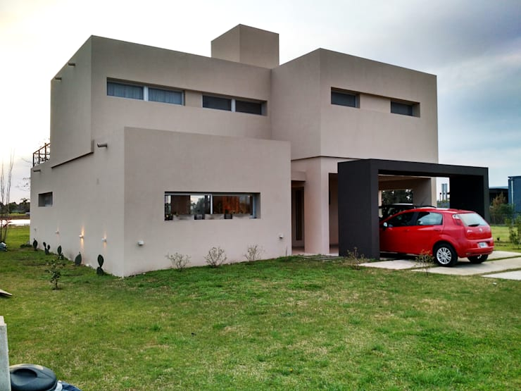 Puerto Roldán - Lote 101 Casas modernas: Ideas, imágenes y decoración de Erb Santiago Moderno