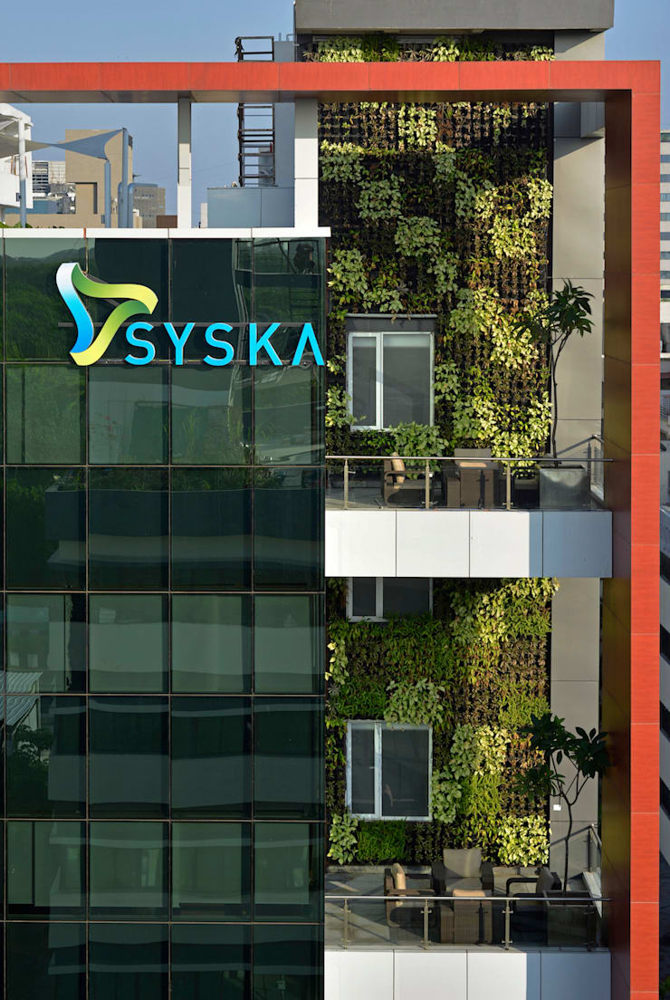 SYSKA HOUSE:  Office buildings by BEYOND DESIGN