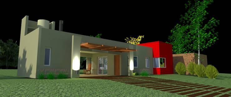 casa Vidaña - Colonia Benítez Chaco: Casas de estilo  por Arq.Rubén Orlando Sosa