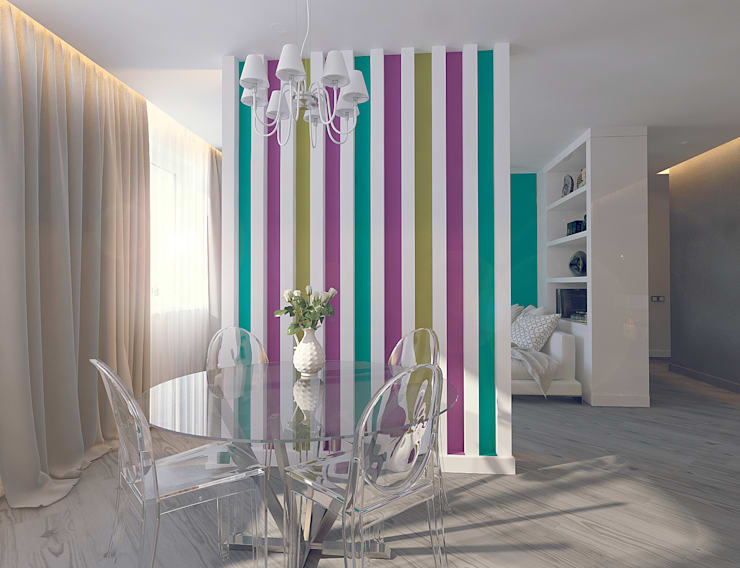 غرفة السفرة تنفيذ Tutto design