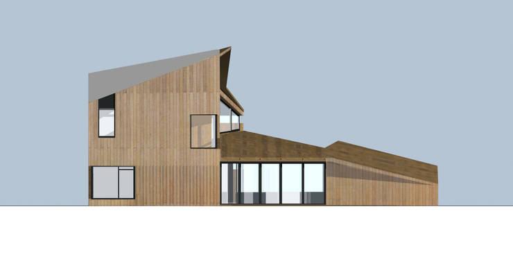 concepthouse houten villa :  Huizen door hans moor architect