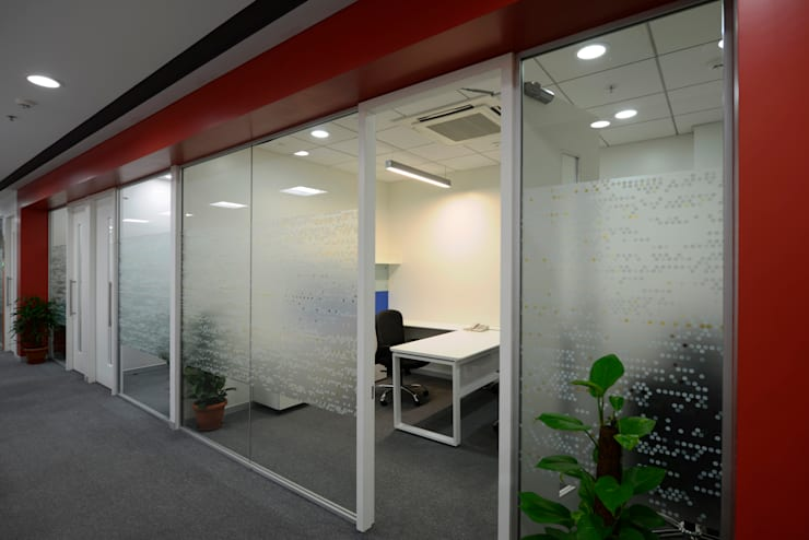 ST GOBAIN:  Commercial Spaces by BEYOND DESIGN,Modern
