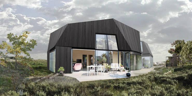 duurzame houten huis:  Huizen door hans moor architect, Modern Hout Hout