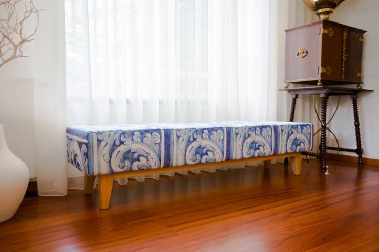 Casa em Leça da Palmeira: Salas de jantar  por SHI Studio, Sheila Moura Azevedo Interior Design
