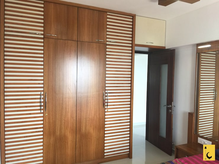 SPACE HI-STREAK, KULSHEKAR, MANGALORE:  Bedroom by Indoor Concepts