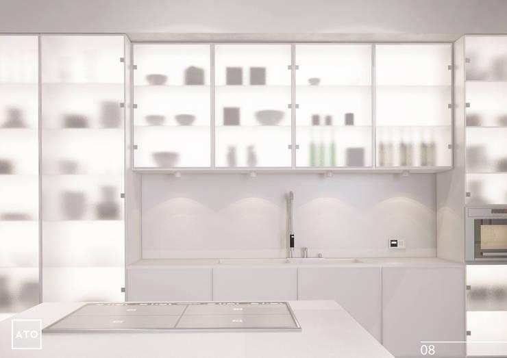 Дом на новой риге: Кухни в . Автор – ATO Studio