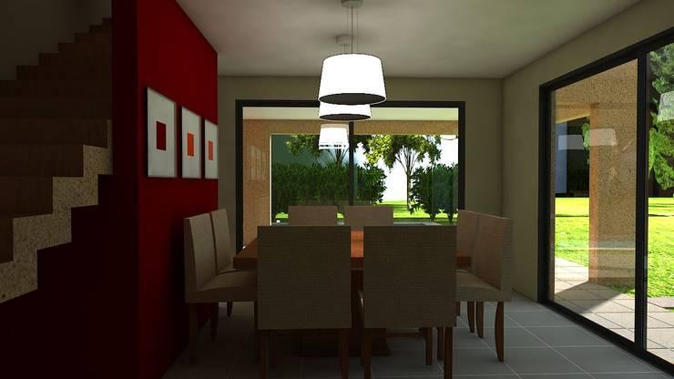 Dining room by Arq.Rubén Orlando Sosa