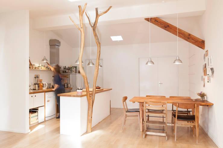 Baum in der Küche:  Küche von Badabaum