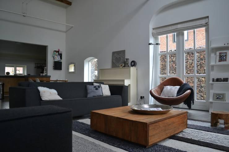 Binnenkijken Interieuradvies: kırsal tarz tarz Oturma Odası