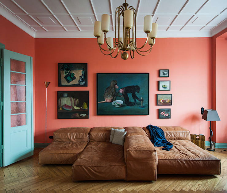 Living room by Gisbert Pöppler Architektur Interieur