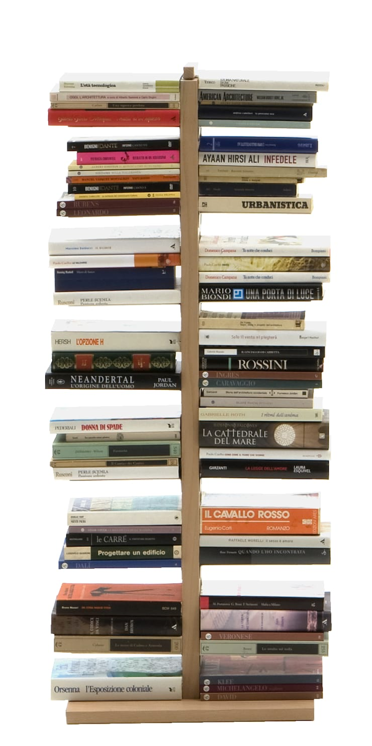 в . Автор – Le zie di Milano, Минимализм Твердая древесина Многоцветный