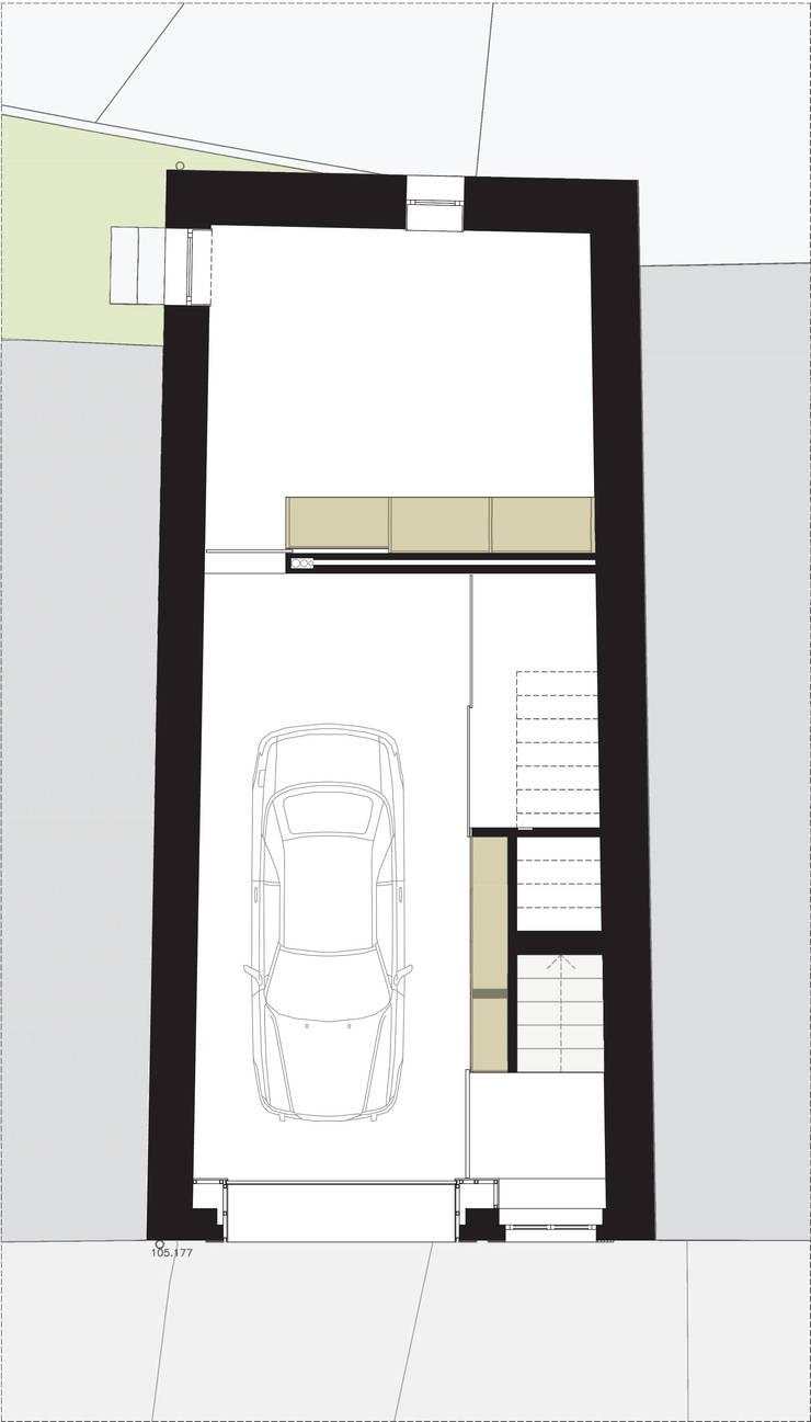 planta rés do chão:   por Ricardo Caetano de Freitas | arquitecto