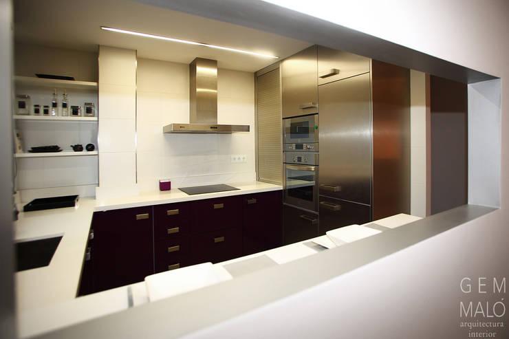 Cocinas de estilo  por Gemmalo arquitectura interior